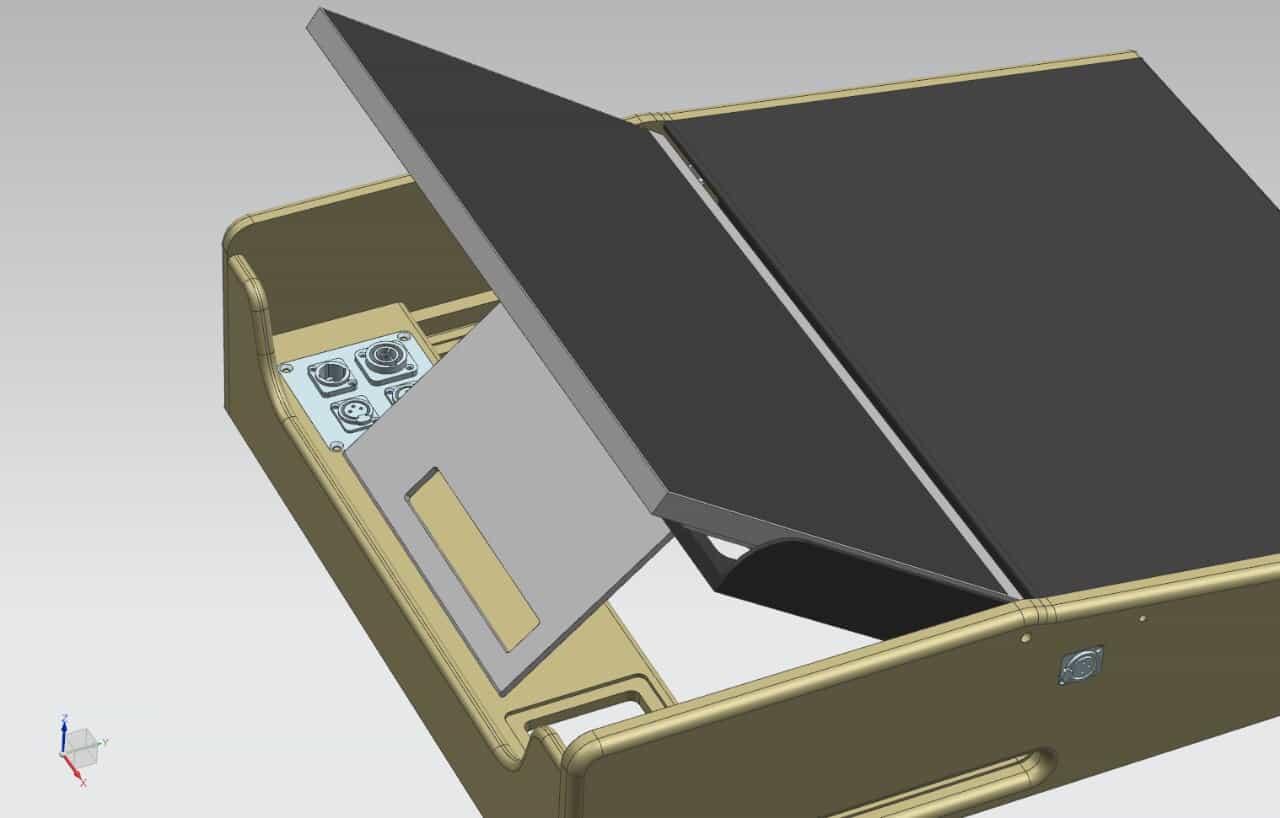 projekt case f r ein infinity chimp 100 lichtsteuerpult. Black Bedroom Furniture Sets. Home Design Ideas